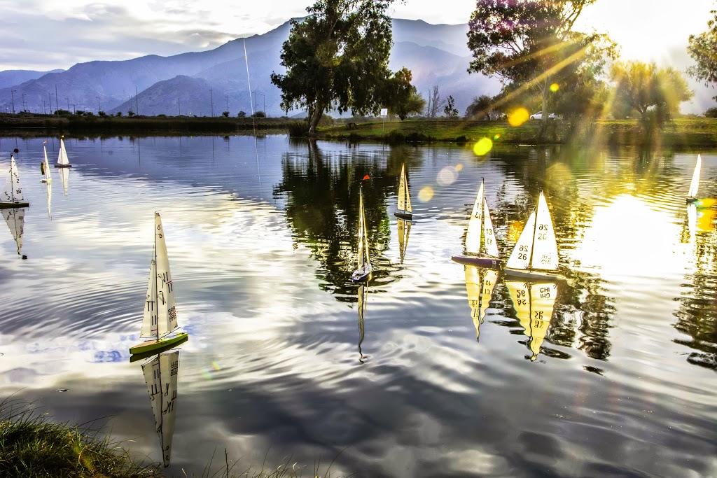 Laguna Carén - Vela Radiocontrolada Chile